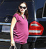 Pregnant Jennnifer Garner With Violet in LA