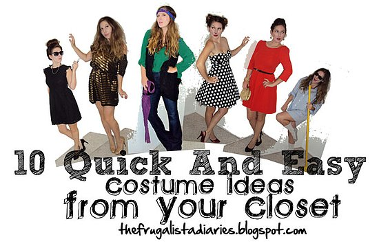 10 Costume Ideas from Your Closet