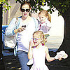 Jennifer Garner With Violet and Seraphina Ballet Pictures