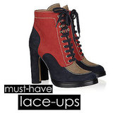 Fall 2011 Shoe Trends: Lace-Up Boots and Booties