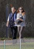 Carla Bruni and Nicolas Sarkozy took an outing with baby Giulia Sarkozy.