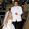 Kelly Ripa & Nick Lachey as Kim Kardashian and Kris Pictures