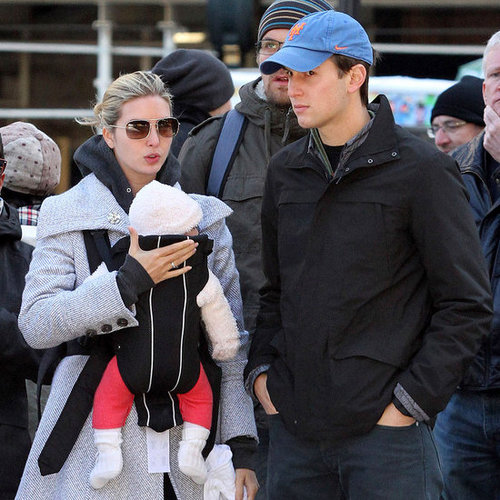 Ivanka Trump and Jared Kushner With Arabella Pictures in NYC