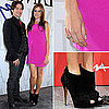 Nikki Reed in Pink Jenni Kayne Dress at Twilight Photo Call