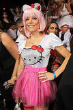 Bethenny Frankel dresses as Hello Kitty for Heidi Klum's 12th annual Halloween party in Las Vegas.