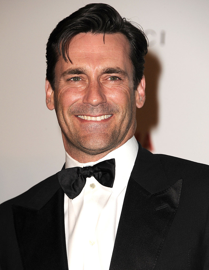 Jon Hamm in a tux.