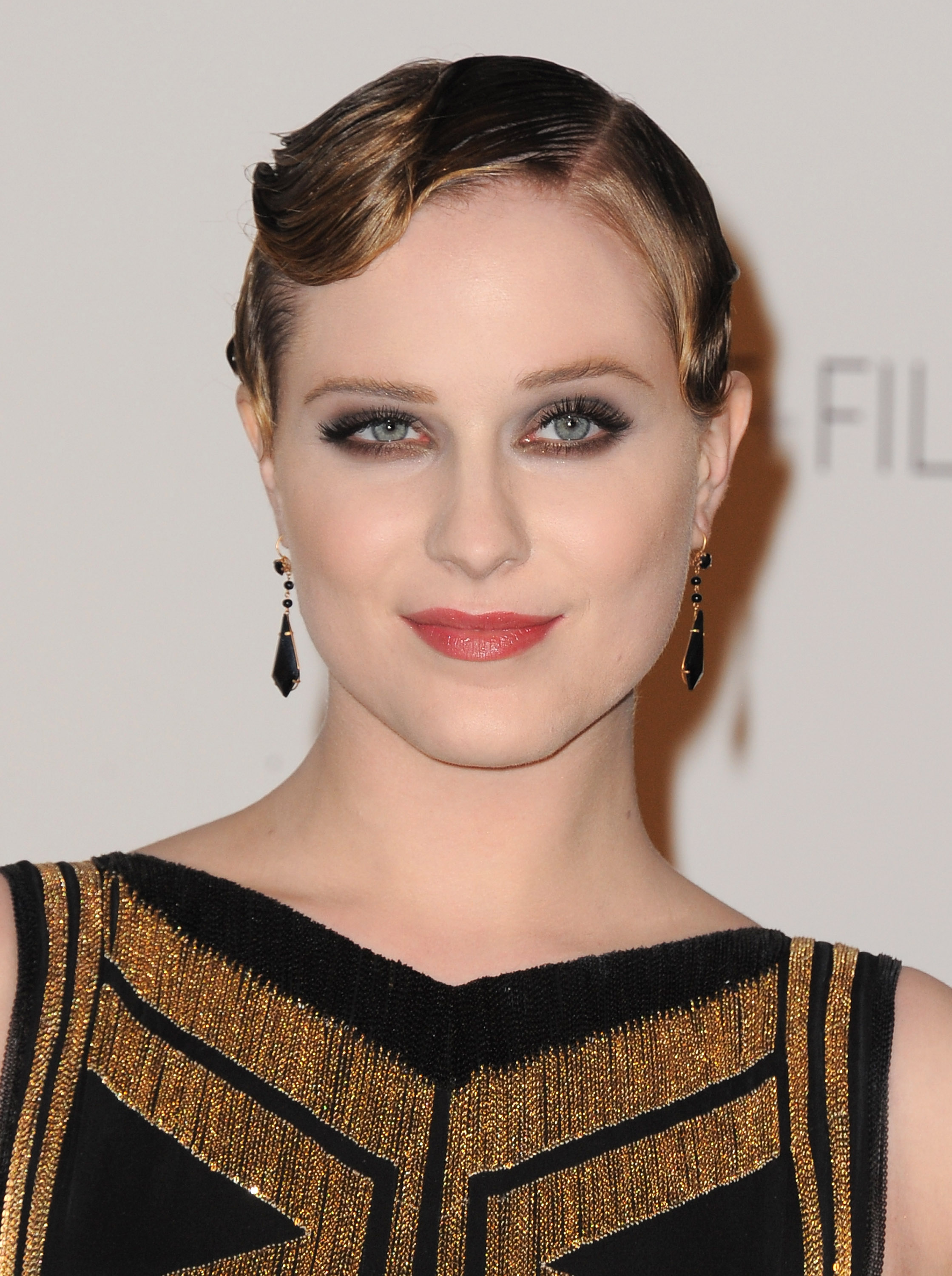 Evan Rachel Wood at a LACMA bash.