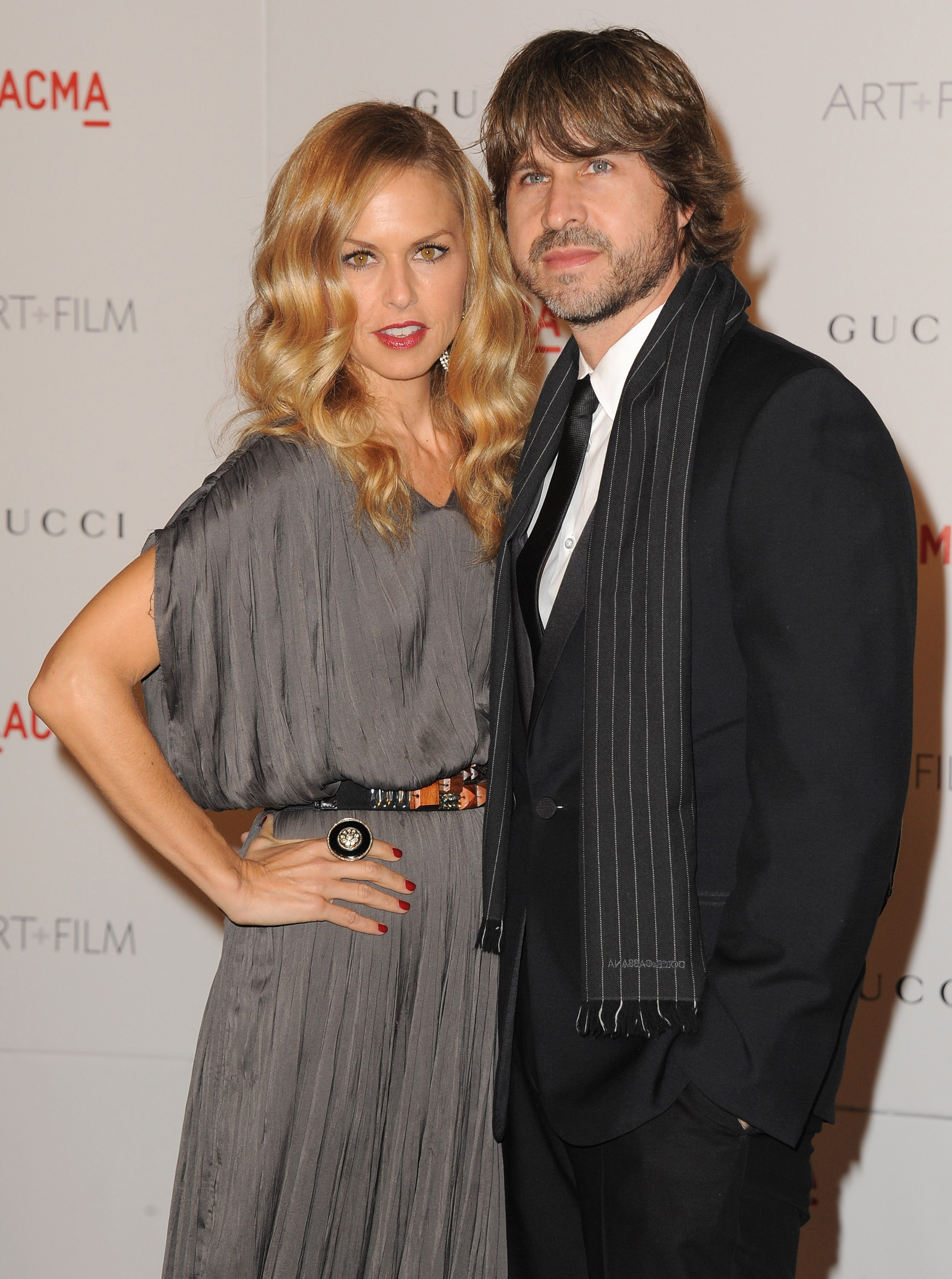 Rachel Zoe and husband Rodger Berman.