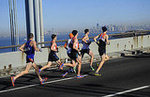 Runners on the Verrazano Bridge