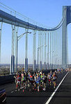 Leaders of the Pack on the Verrazano Bridge