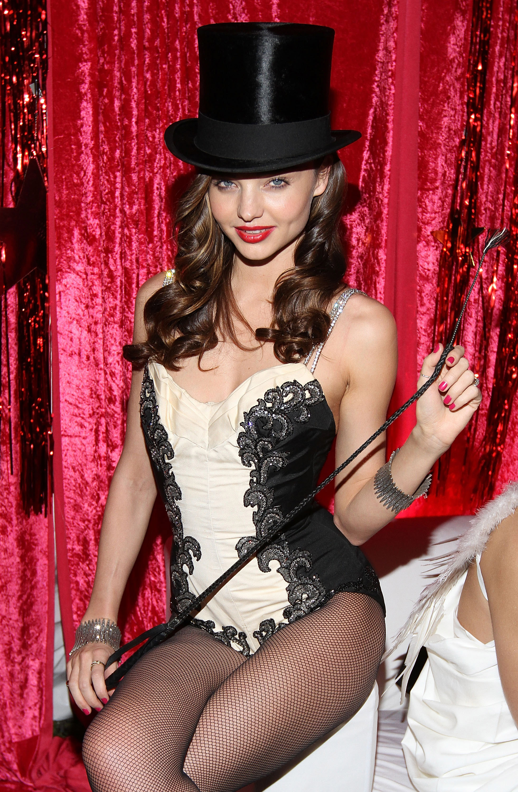 Miranda Kerr hosted a circus-themed party for Halloween in NYC.