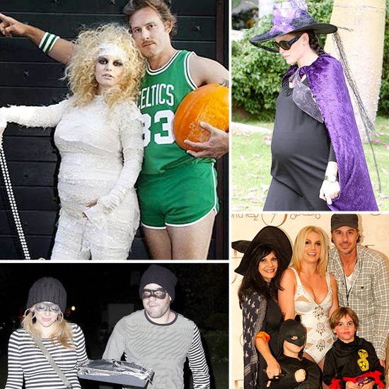 Stars Celebrate Halloween in Crazy Costumes!