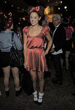 Lauren Conrad dressed as Minnie Mouse for a 2011 Halloween party in LA.
