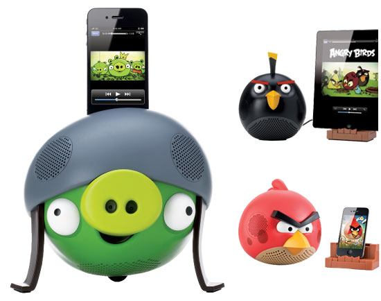 Angry Birds Speakers ($80-100)