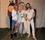 Adam Levine, Anne Vyalitsyna, and James Valentine got in the Halloween spirit in 2011.