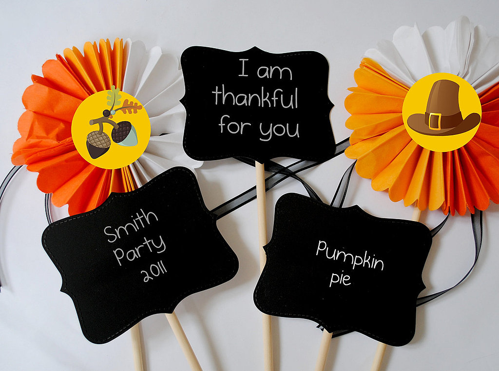 Thanksgiving Dinner Party Photo Prop ($8)