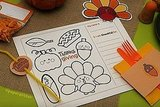 Thanksgiving Placemat (free)
