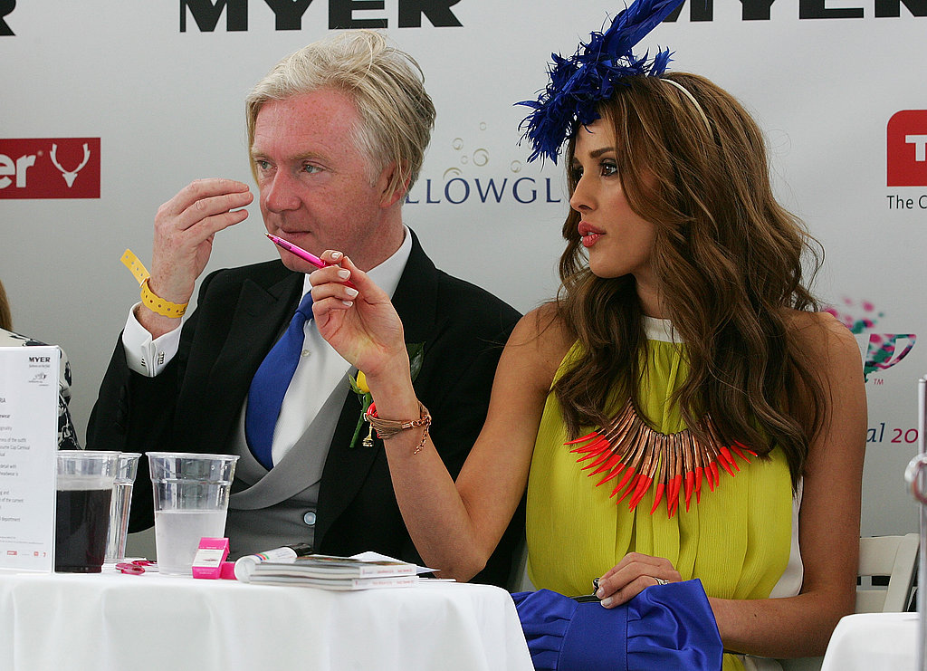 Philip Treacy and Rebecca Judd