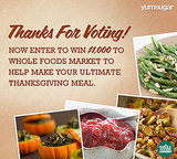 Win $1,000 to Whole Foods Market