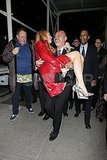 Christian Louboutin and Blake Lively couldn't stop laughing in NYC.