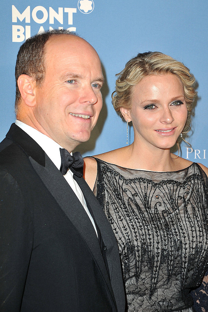 Prince Albert and Princess Charlene honored Princess Grace in NYC.