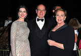 Anne Hathaway and her Princess Diaries co-star Julie Andrews enjoyed an evening with Prince Albert.