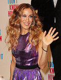 Sarah Jessica Parker waved to her Australian fans.
