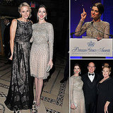Anne Hathaway Parties With a Princess and Her Princess Diaries Costar!