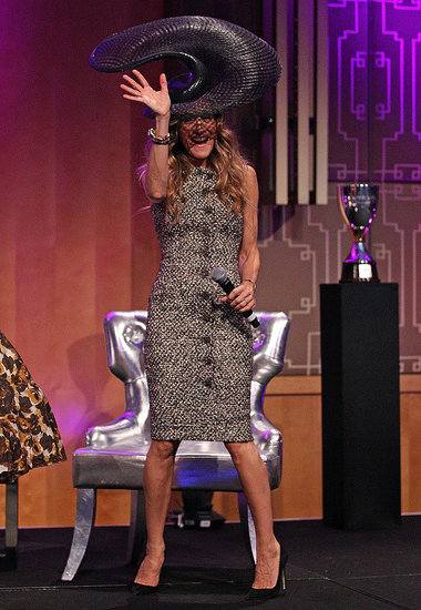 Sarah Jessica Parker Lets Her Hat Do the Talking Down Under