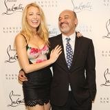 Blake Lively at Christian Louboutin Party (Video)