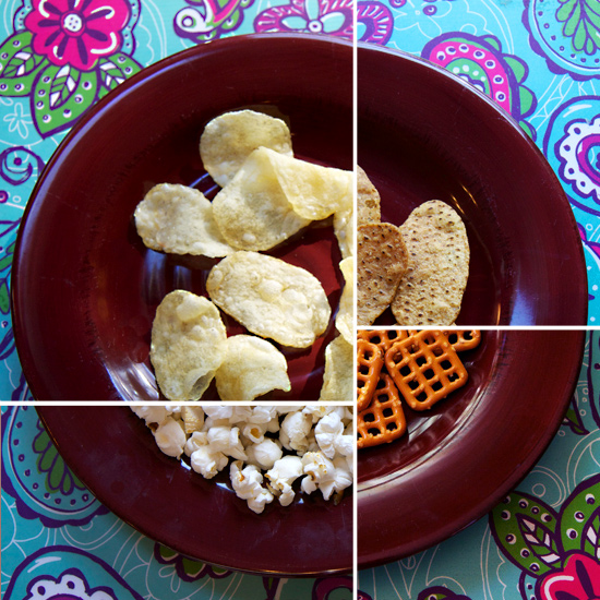 What 100 Calories Really Look Like: Salty Snacks