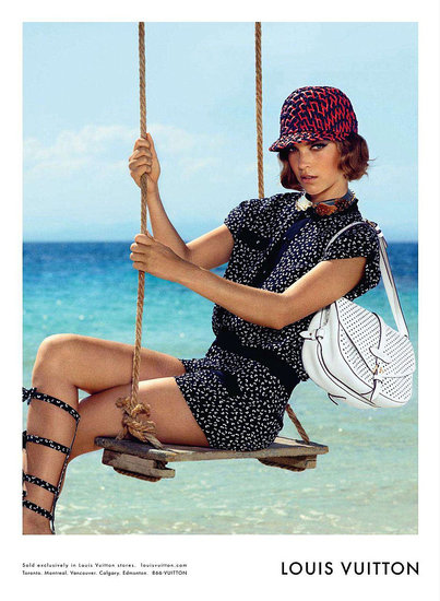Louis Vuitton Resort 2012 Campaign