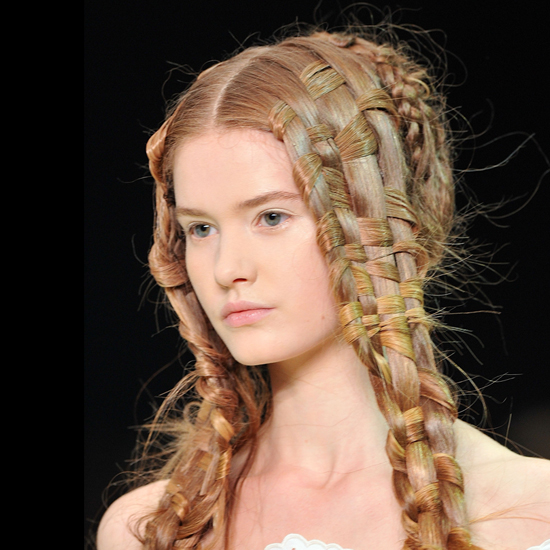 Elaborate Runway Braids