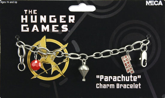 The Hunger Games Charm Bracelet ($20)
