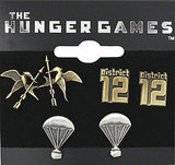 The Hunger Games Stud Earrings Three-Pack ($15)