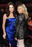Fergie and Ashley Greene caught up at the gala.