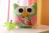 Owl Plush Felt Toy