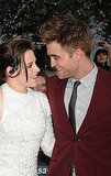 Robert Pattinson and Kristen Stewart stole a sweet glance at the LA premiere of Eclipse in June 2010.