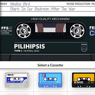 AirCassette, Cassette Tape iPhone Music App