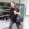 Jennifer Garner Pregnant Bump Pictures With Karate Kid Violet