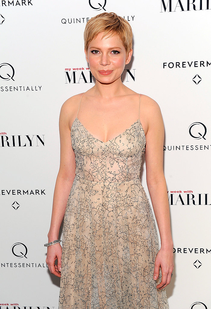 Michelle Williams attended the My Week With Marilyn screening in NYC, which was hosted by Forevermark and Quintessentially.