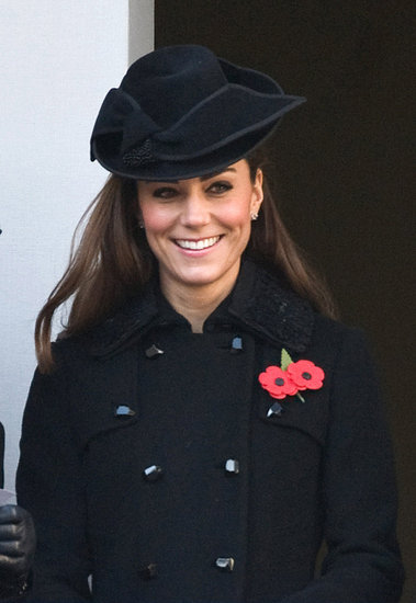 Kate Middleton Is Stunning in Classic Black For Remembrance Day