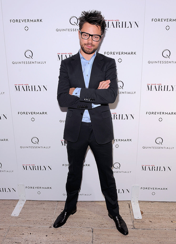 Dominic Cooper stepped out for the screening.