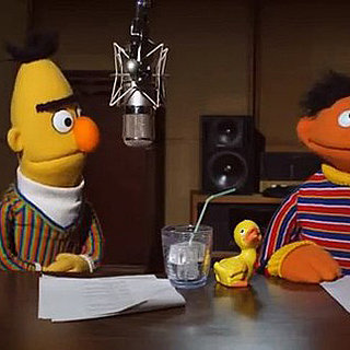 Bert and Ernie on Tom Tom Navigation System