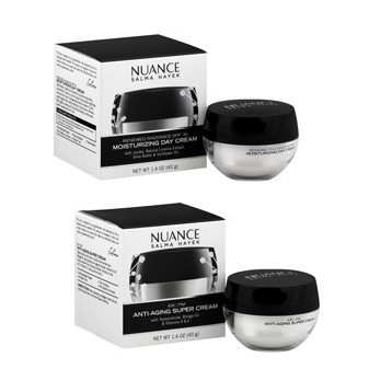 Review of Salma Hayek's Nuance Face Creams