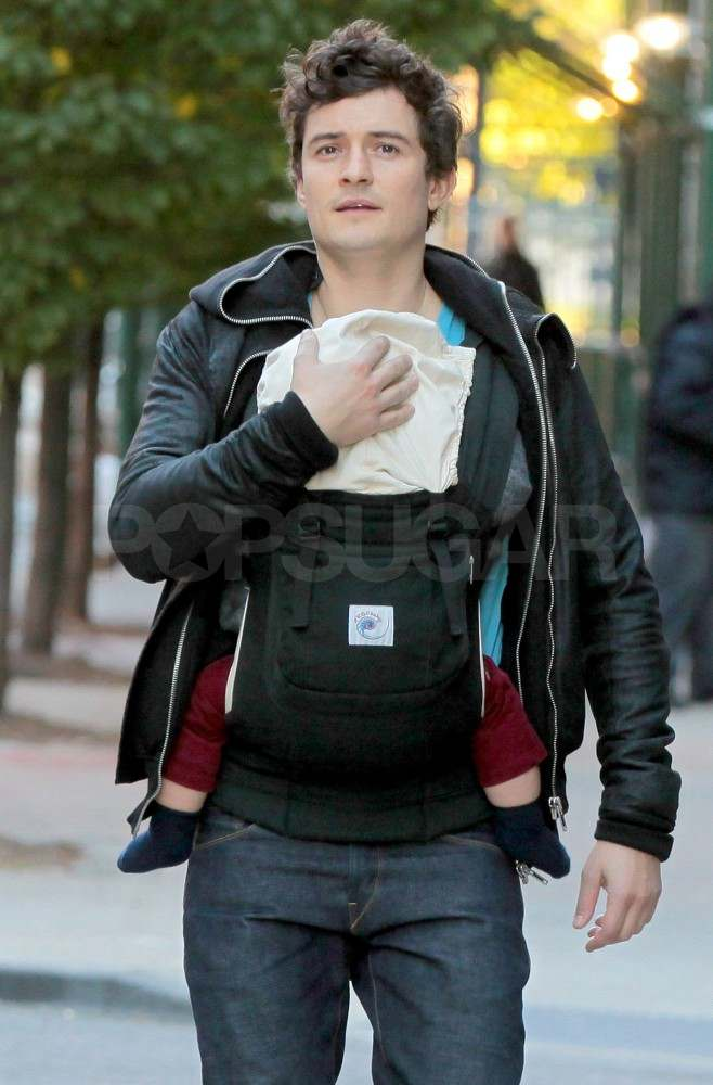Orlando Bloom out with Flynn.