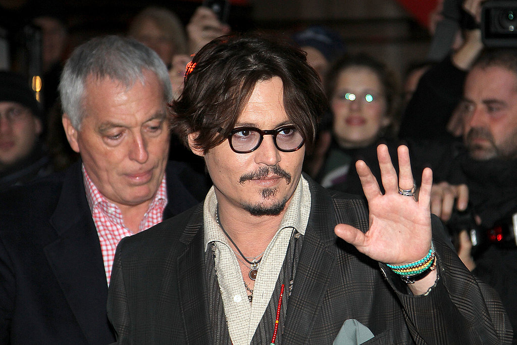 Johnny Depp Continues Sharing His Rum Diaries in France