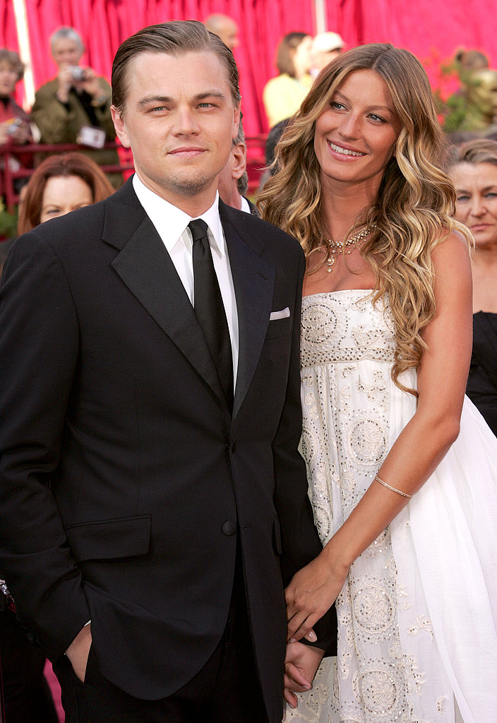 At the March 2005 Academy Awards, Leonardo DiCaprio walked the red carpet with then-girlfriend Gisele Bündchen on his arm.