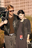 Ryan Gosling stole glances of Rooney Mara in Austin.