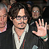 Johnny Depp Touring Paris With The Rum Diary Pictures